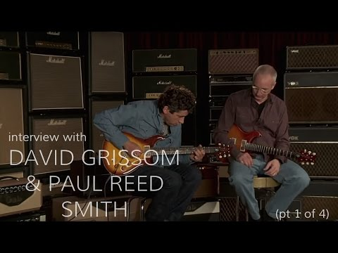 Paul Reed Smith & David Grissom • Wildwood Guitars Interview (Part 1 of 4)