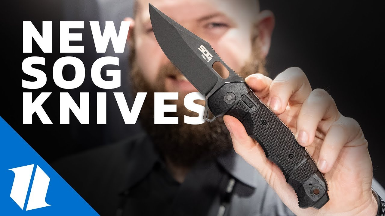NEW Sog Knives | SHOT Show 2019
