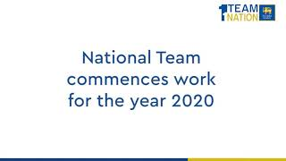 National Team commences work for the year 2020