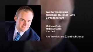 Ave formosissima (Carmina Burana) - Alto 2 Predominant