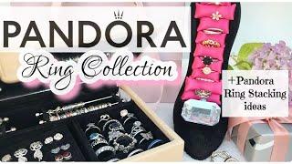PandoraRingCollection 2018 UPDATE & PandoraRings Stacking Ideas (30 New & Retired PandoraRings)