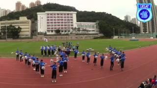 2015-2016何文田官立中學周年陸運會 德社啦啦隊表演