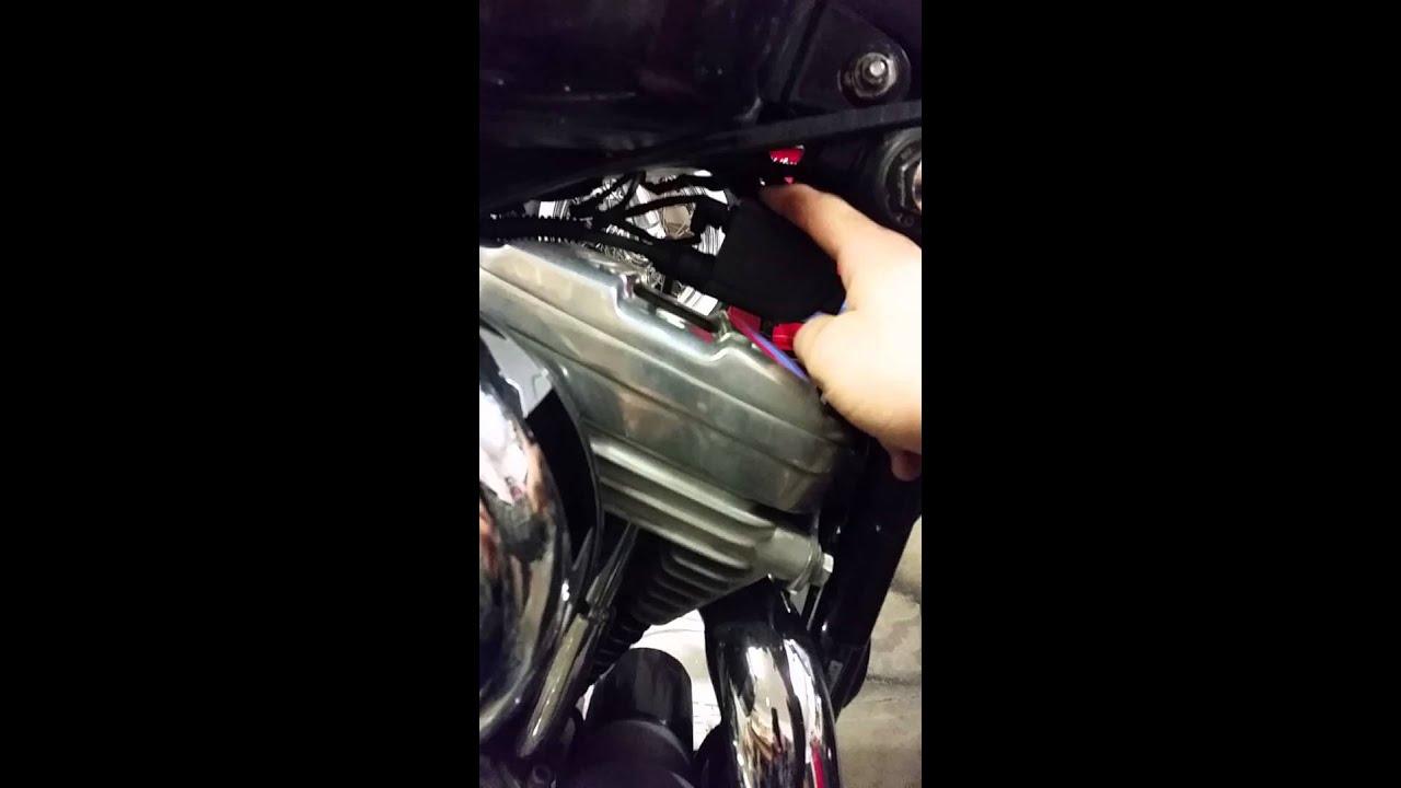 Basket case HD Sportster (coil problem)