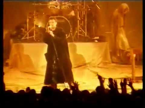 David Bowie Palais Omnisports Paris feb 20 1996