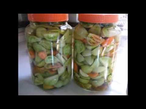 Yeşil Domates Turşusu Videosu