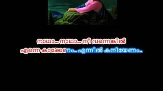 Ninne Vazhtheedam Ennennum | Devotional  karaoke  with Lyrics by TheNest