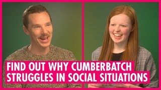 Why Choosing Characters With Social Anxiety - Benedict Cumberbatch - The Grinch Interview