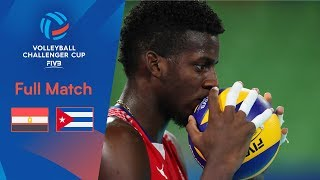 EGYPT vs CUBA  | Full Match | 2019 FIVB Men's Volleyball Challenger Cup