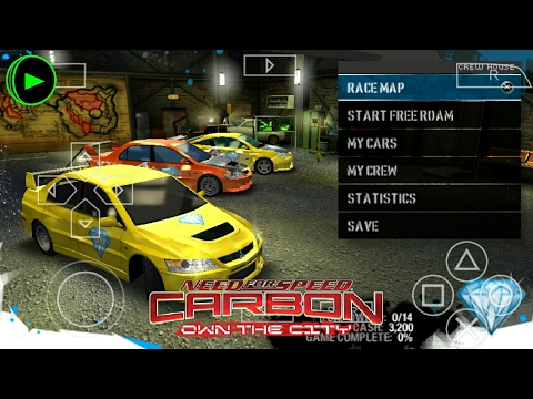 Need For Speed Carbon Own The City No Android Emulador De Psp