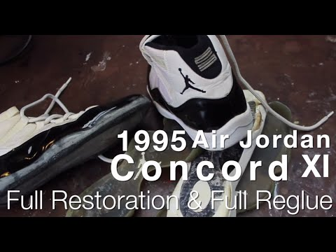 1995 Air Jordan Concord XI Full Restoration