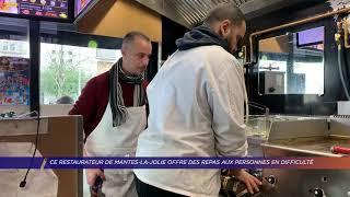 Yvelines | Ce restaurateur de Mantes-la-Jolie offre des repas aux personnes en difficulté
