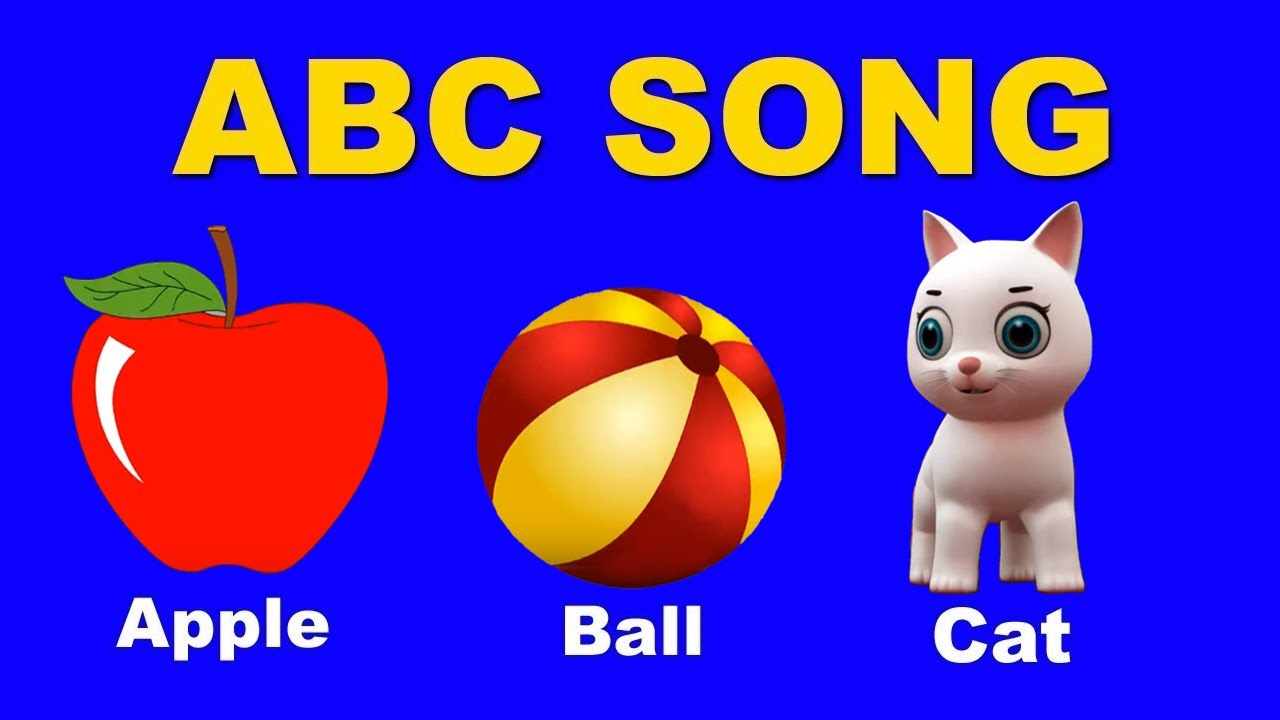 a for apple b for ball c for cat d for dog song by shaan preschool