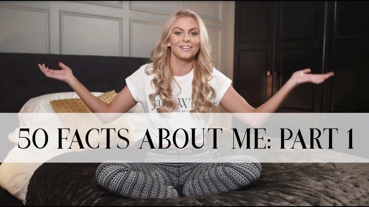 50 FACTS ABOUT ME (PART 1) Spilling All My Secrets!   Natalie Elizabeth Diver - YouTube