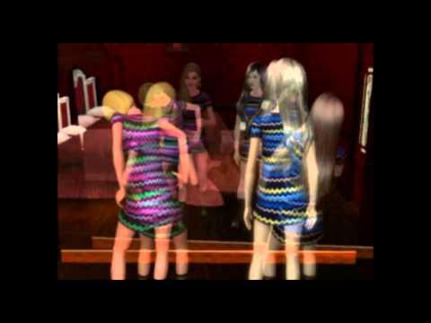 The  Sims 3 сериал Зов крови 3 серия.