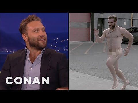 "A Naked Jai Courtney Terrorized The Director Of ""Suicide Squad""  - CONAN on TBS"