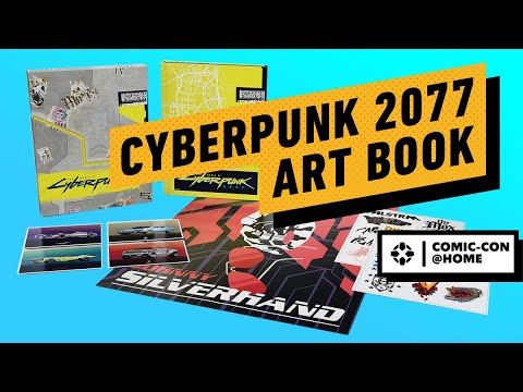 The World of Cyberpunk 2077 Artbook is Packed With Lore | Comic Con 2020 – IGN