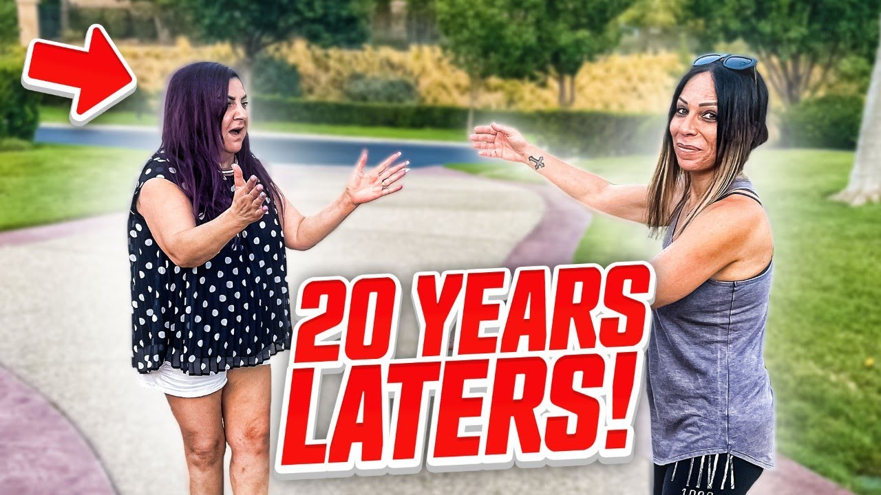 Reunited With My Best Friend After 20 years!**emotional**