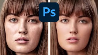 Photoshop Retouching Skin Retouching Technique Frequency Separation Made Easy