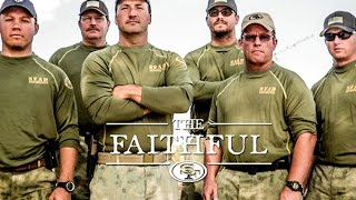 Retired Navy SEALs Train 49ers Alumni through Military Obstacle Course