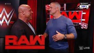 Shane McMahon Returns & Challenge Monday Night Raw 23 October Highlight