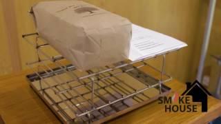 Коптильня из нержавеющей стали от Смоук Хаус. Детальный обзор коптилки.