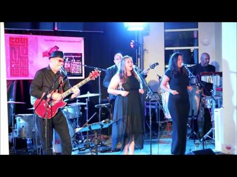 SoulMoFunk Band performing LIVE at Towcester Racecourse in Northamptonshire