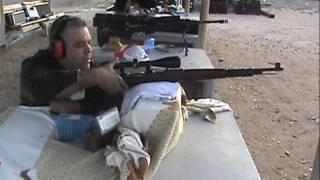 wwii german mauser 98k rifle at 1 000 yards