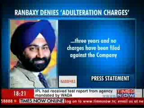 Ranbaxy denies US adulteration charges