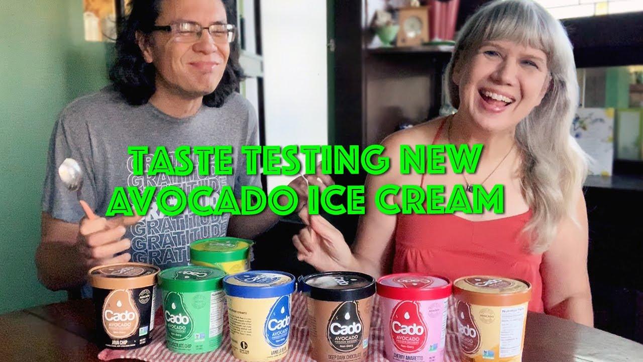 Vegan Taste Test: AVOCADO Ice Cream **WHOA**