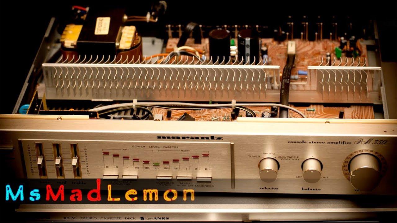 Vintage amp repair - 02 Update and troubleshooting