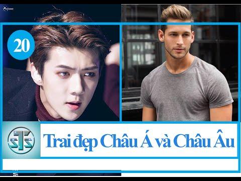 So sánh 20 trai đẹp nam thần đẹp trai nhất Châu Á và Châu Âu