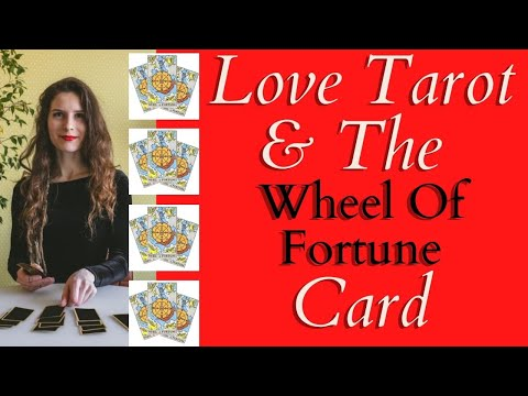 Love Tarot and The Wheel Of Fortune Card ❤ Change In Love?