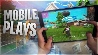 PRO Fortnite Mobile Player // 585+ Wins // Fortnite Android Beta is Out WORLDWIDE!