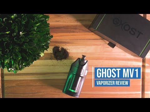 Ghost MV1 Vaporizer  [PRODUCT REVIEW]: Premium Vape for Dry Herb and Concentrates