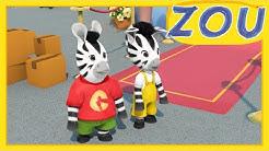 Zou en Français 👏ZOU AIDE SON GRAND-PÈRE 📪 Dessins animés pour enfants