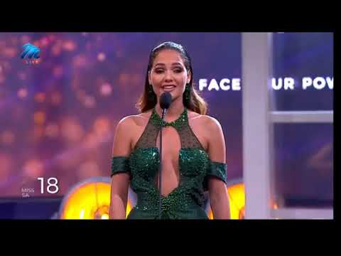 Miss South Africa 2020 TOP 3  QUESTION AND ANSWER