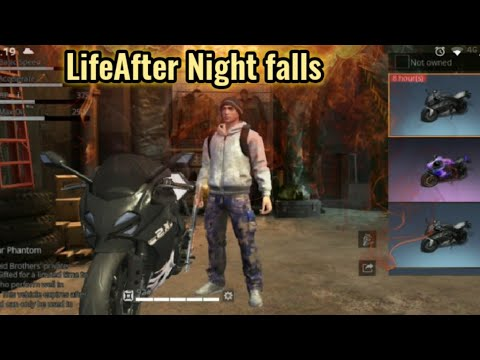 LifeAfter Night falls - Open World - no. 11 - Motorcycle from air drop or blood red diamond