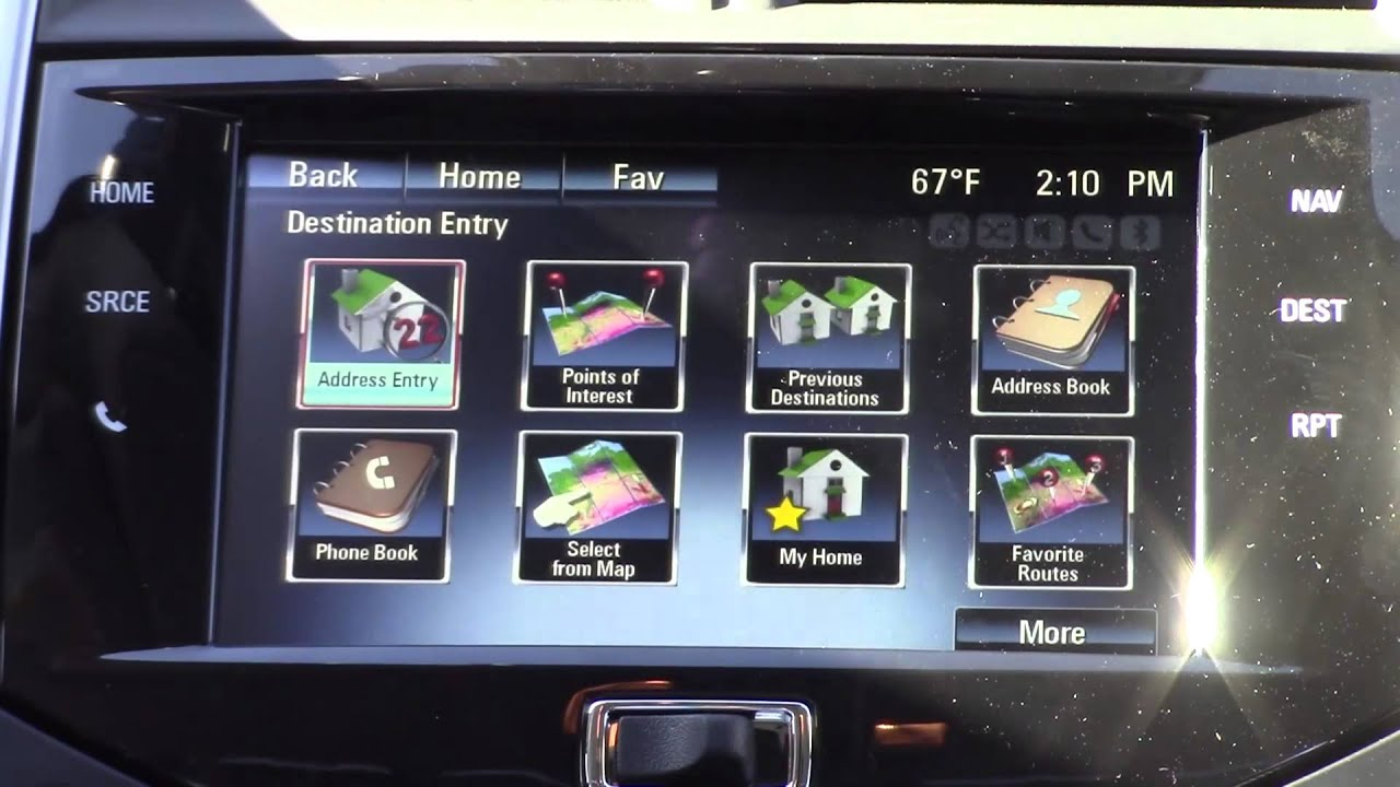 How to Use the MyLink Navigation System in Chevrolet Vehicles