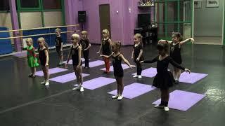 Открытый урок детского танца дети 3 - 6 лет ( Baby dance) www.panteradance.ru № 2
