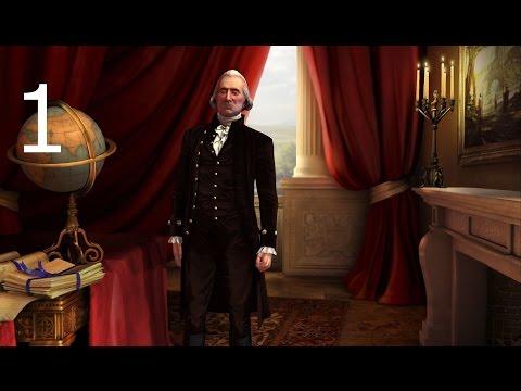 Let's Play Civilization 5: Manifest Destiny (Roleplay Challenge), Part 1