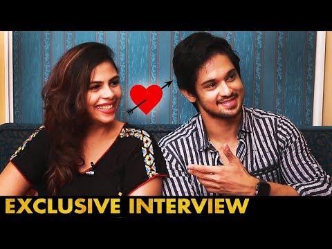 எனக்கு Heart Attack-கே வந்திடுச்சு | Actor Nakul and his wife Sruti Interview