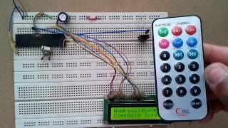 NEC Protocol IR remote control decoder using PIC16F877A CCS PIC C