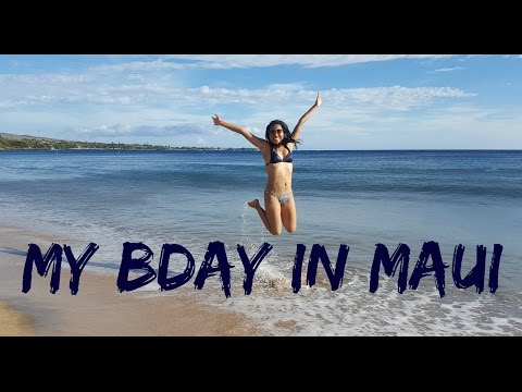 My bday in Maui, Hawaii - Travel with Arianne - Travel U.S.A.#5