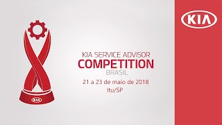 Kia Service Advisor Competition 2018 - Brasil