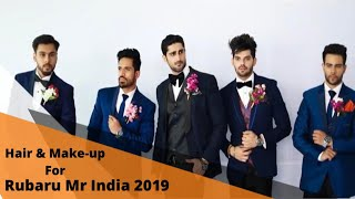 Time Machine Salon & Academy for Rubaru Mr. India 2019