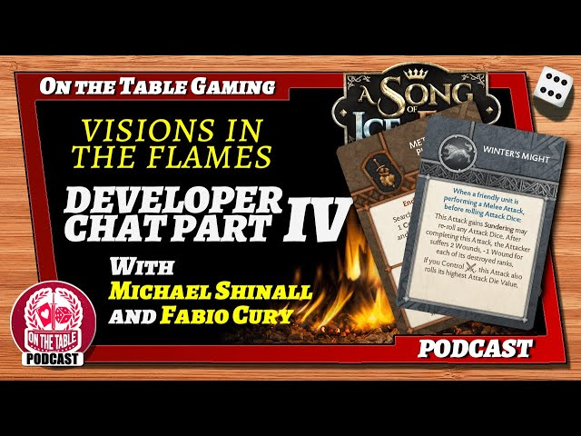 Visions in the Flames 2021 Part 4: Faction Identities and Tactics Cards