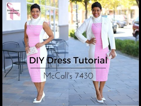 McCall's 7430 - DIY Dress Tutorial