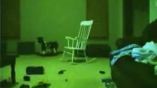 Rocking chair scary pop up
