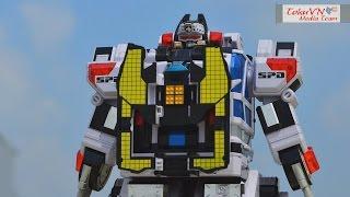 [TMT][100] Review DX DekaBase Robo! Tokusou Sentai Dekaranger! 特捜戦隊デカレンジャー! Delta Command Megazord! thumbnail