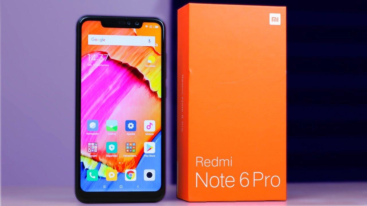 Xiaomi Redmi Note 6 Pro por 167 euros (-25% desc.)
